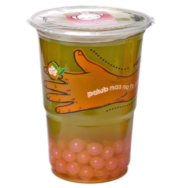 Jesienna bubble tea