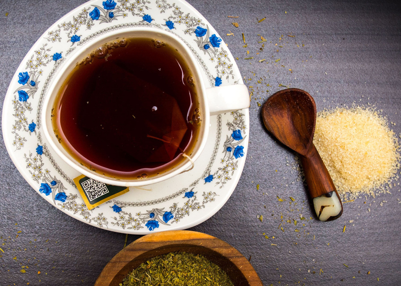 Naturalna herbata bubble tea
